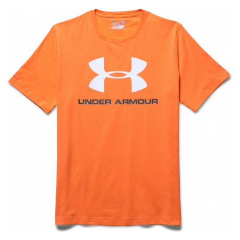 TRIKO UNDER ARMOUR CC SPORTSTYLE LOGO - oranžová