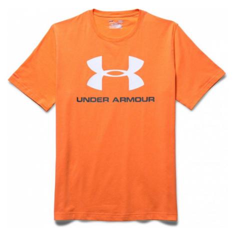 Under Armour sportstyle - oranžová