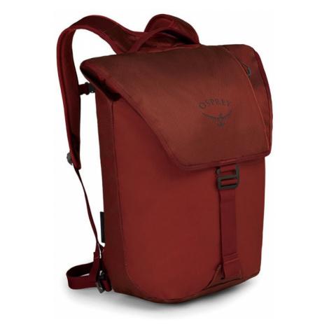 Batoh OSPREY Transporter Flap 20L ruffian red