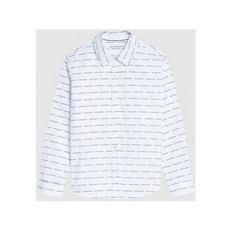 Calvin Klein Jeans IB0IB00550 Bílá