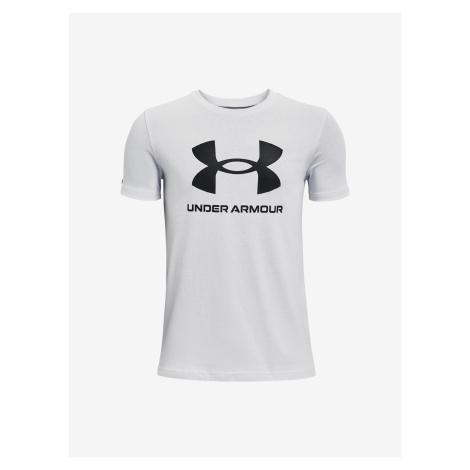 Sportstyle Logo Triko dětské Under Armour Bílá