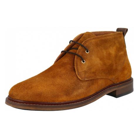 Shoe The Bear Kotníkové boty 'PHOENIX WAXED S' koňaková