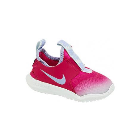 Růžové dětské slip-on tenisky Nike