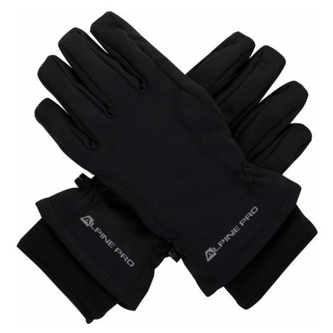 Unisex rukavice Alpine Pro KAHUGEN - černá