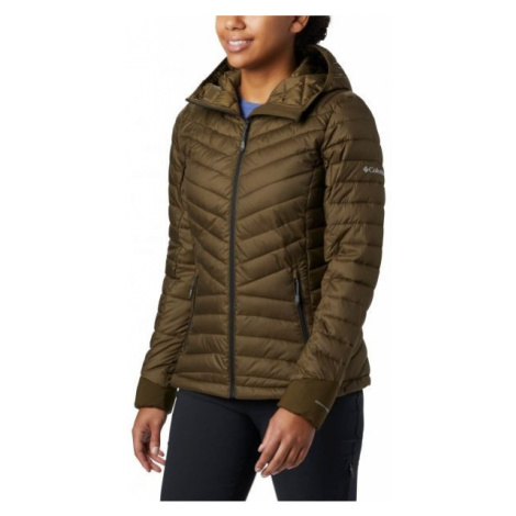 Columbia WINDGATES HOODED JACKET hnědá - Dámská bunda