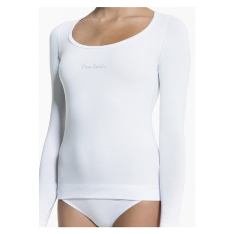 Dámské tričko s dlouhým rukávem Pierre Cardin Cannella Bílá