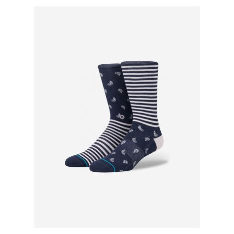 Paranoia Ponožky Stance Modrá
