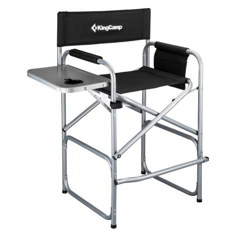 Kempingová skládací židle KING CAMP Deluxe Director vysoká