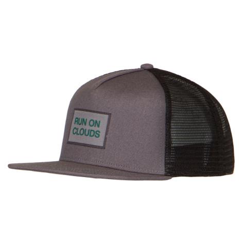 Kšiltovka On Running CREW CAP šedá