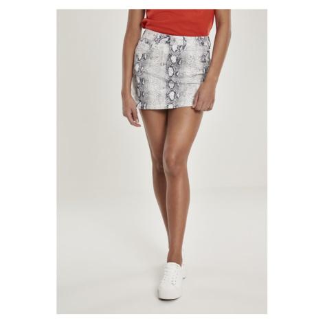 Ladies Animal Stretch Twill Skirt Urban Classics