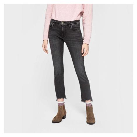 Pepe Jeans dámské tmavě šedé džíny Victoria