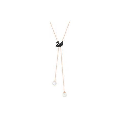 Swarovski Luxusní náhrdelník Iconic Swan
