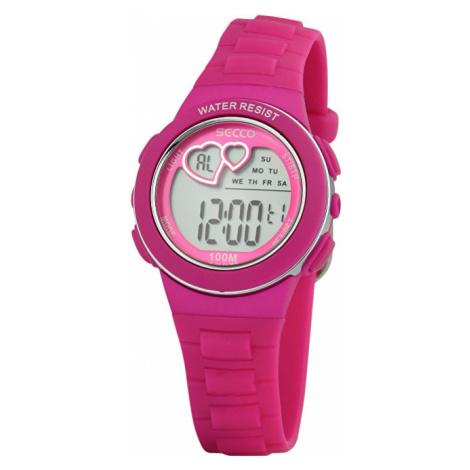 Secco Dámské digitální hodinky S DKM-004