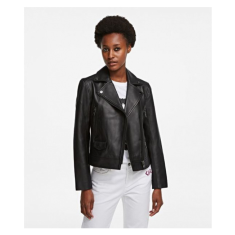 Bunda Karl Lagerfeld Karl Legend Biker Jacket - Černá