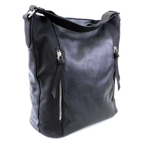 Černá dámská prostorná kabelka Atif Tapple