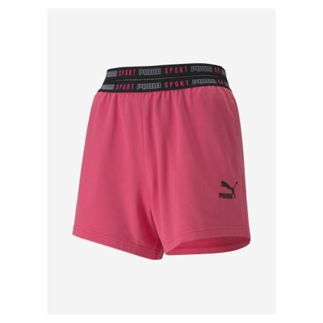 Kraťasy Puma Sport Shorts Wmns Růžová
