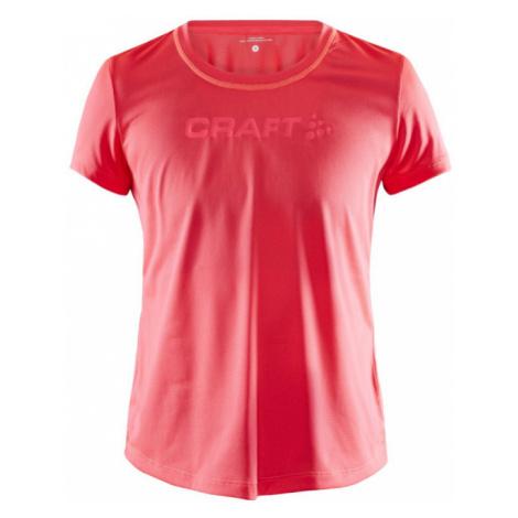 Dámské tričko CRAFT CORE Essence Mesh SS červená