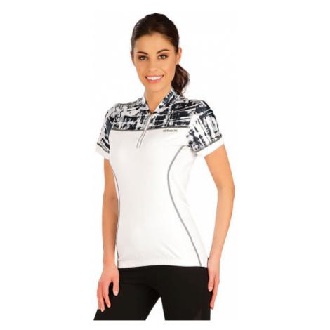 Dámské cyklo tričko Litex 5A197 | bílá