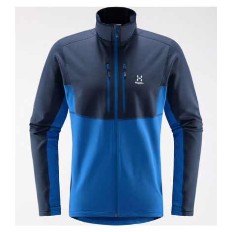Pánská mikina Haglöfs Roc Sheer Mid Jacket Men tarn blue/storm blue