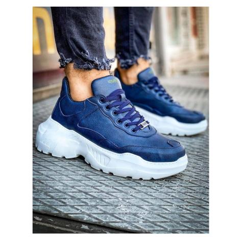 Men's blue sneakers ZX0136 DStreet