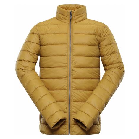 ALPINE PRO TATAR 2 Pánská zimní bunda MJCP365115 mustard