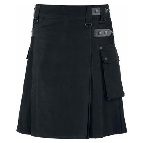 Black Premium by EMP Kilt Kilt černá