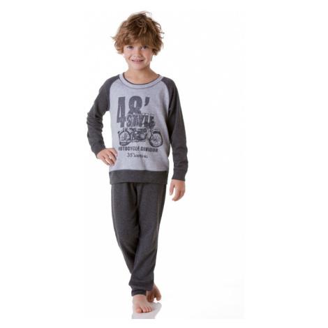 Chlapecké pyžamo Cotonella DB252 Šedá