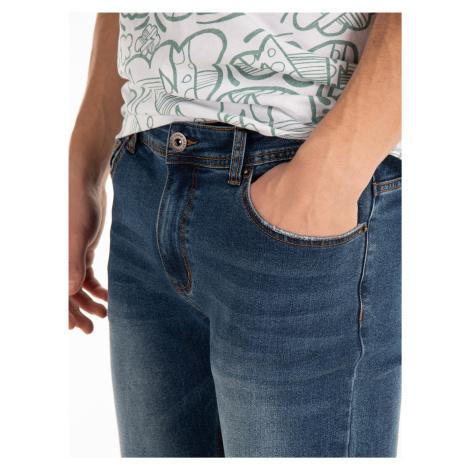 GATE Základní džíny straight slim fit