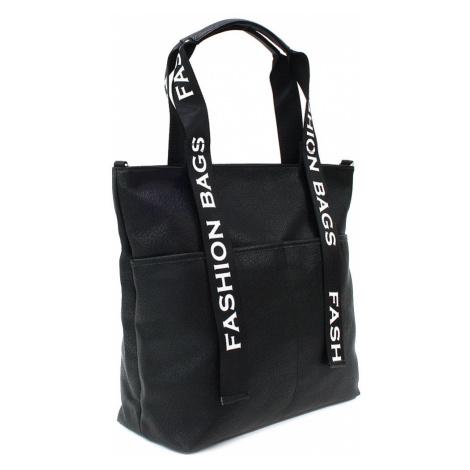 Černá velká dámská zipová taška Adelia Tony