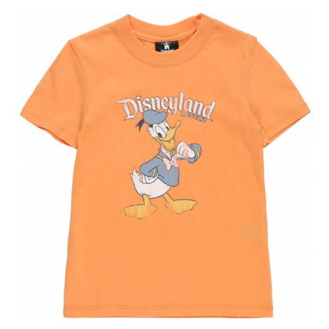 Cotton On Tričko 'DOWNTOWN' oranžová / bílá / světlemodrá / černá
