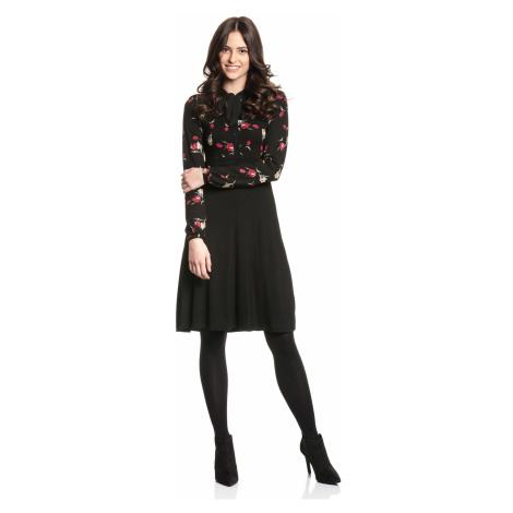 Elegantní šaty s dlouhými rukávy černé Vive Maria Eva's Garden