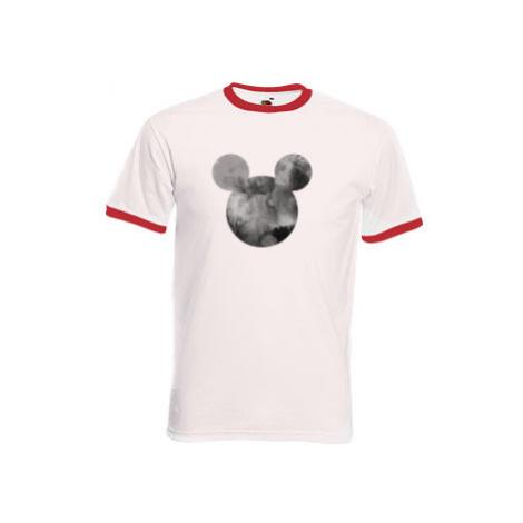 Pánské tričko s kontrastními lemy Mickey Mouse