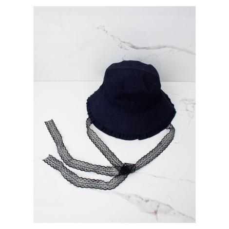 Letní čepice pro dívky v tmavě modré barvě ONE SIZE FPrice