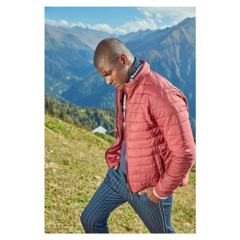 Trendyol Burgundy Jackets-Zipper
