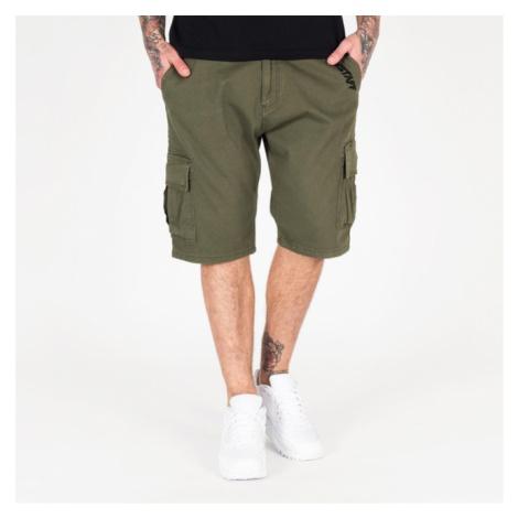 Amstaff Asutan Denim Shorts - oliv