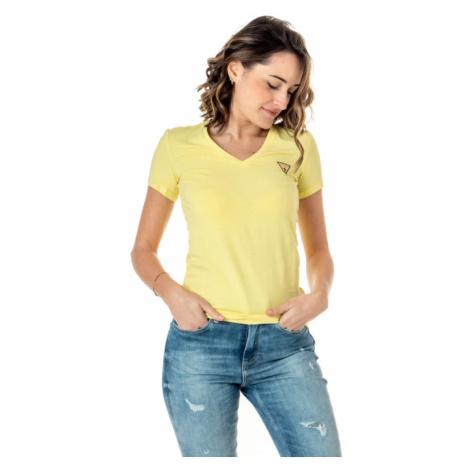 Guess dámské žluté triko