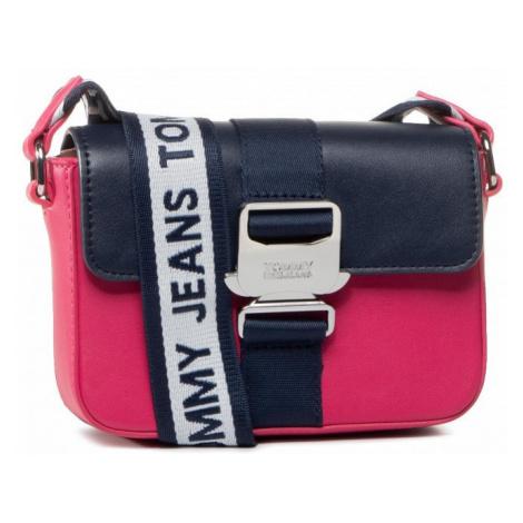 Tommy Hilfiger Tommy Jeans dámská modro-růžová crossbody kabelka FEMME ITEM SM CROSSOVER