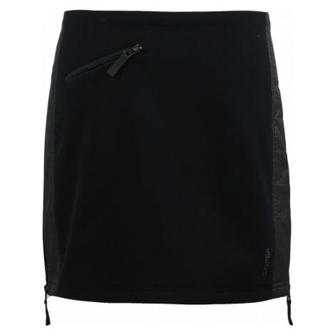Zimní softshellová sukně Skhoop Elina Short black