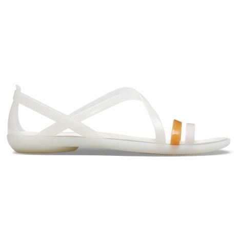 Crocs Isabella Strappy Sandal W Oyster W6