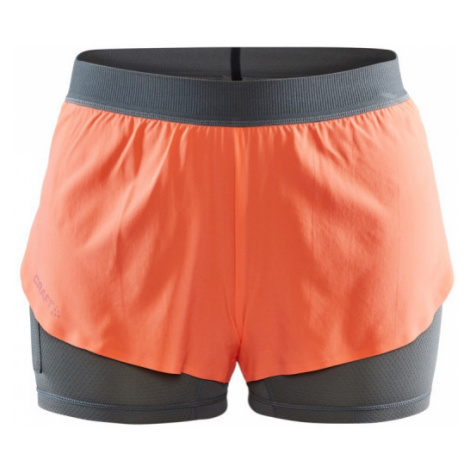 Dámské šortky CRAFT Vent 2v1 oranžová