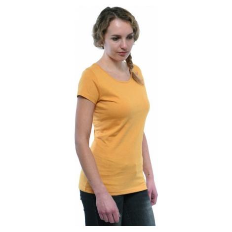 Dámské tričko BUSHMAN TAMARA žlutá