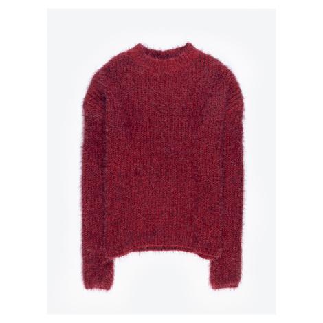 GATE Chlupatý široký svetr