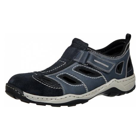 RIEKER Sandály chladná modrá / noční modrá
