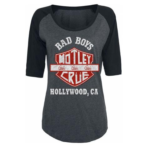 Mötley Crüe Bad Boys Dámské tričko šedá/cerná