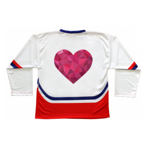 Hokejový dres ČR Srdce mozaika