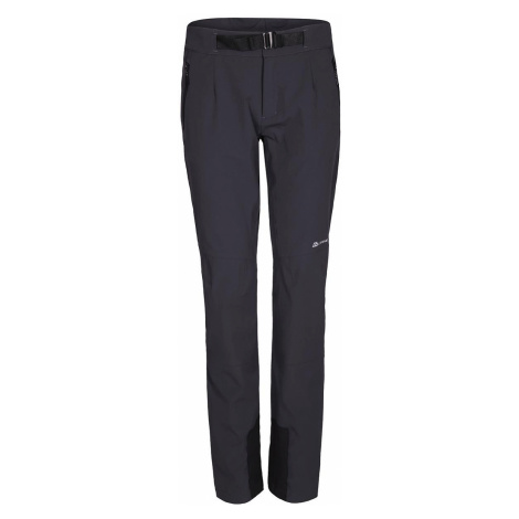 Dámské softshellové kalhoty Alpine Pro ROHANA - tmavě šedá