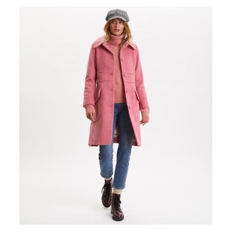 Kabát Odd Molly Wool Hello There Coat - Růžová