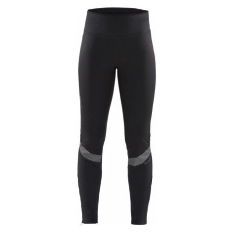 Dámské kalhoty CRAFT SubZ Wind Tights černá s potiskem