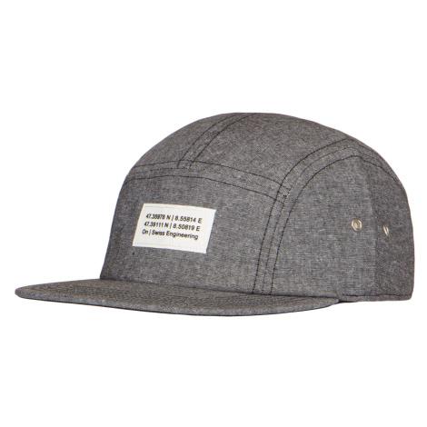 Kšiltovka On Running 5 PANEL CAP šedá
