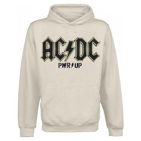 AC/DC PWRUP Angus Devil Mikina s kapucí béžová